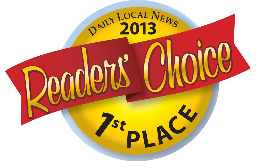 Daily Local News Readers Choice 1st Place 2013